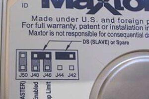 Recuperar archivos de dispositivos Maxtor